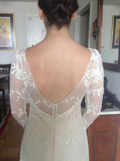 Changing neckline