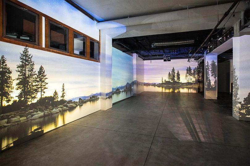 Scenic Indoor Projections
