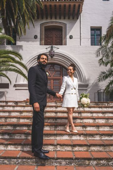 A courthouse wedding