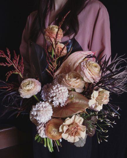 Unique bridal bouquet