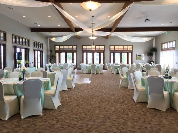 A ballroom made for weddings