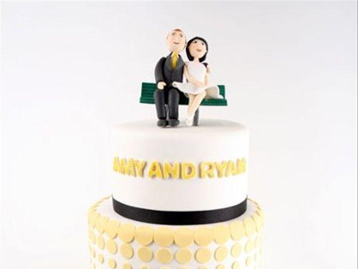 Tmx 1314228129764 AmyandRyan West Hollywood wedding cake