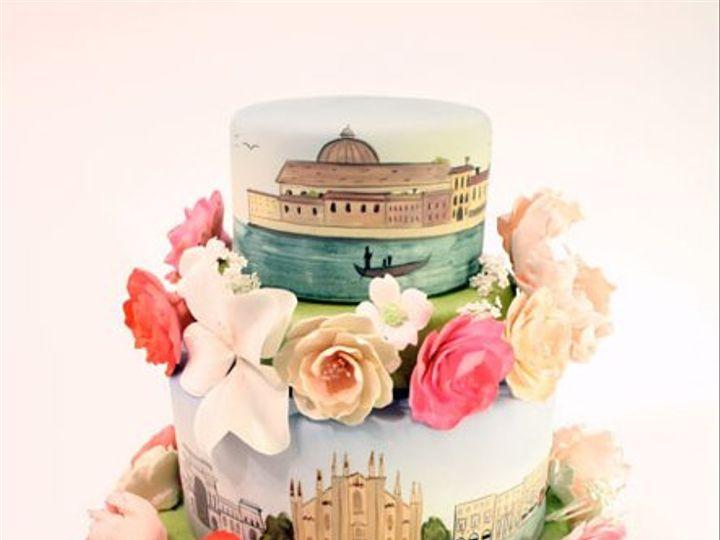 Tmx 1314228140514 ScenesofItaly West Hollywood wedding cake