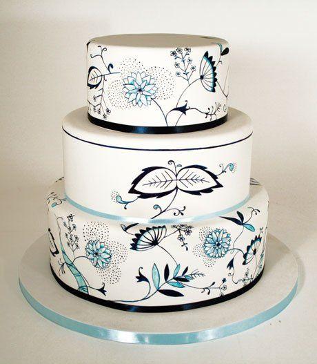 Tmx 1314228300717 Chinapattern West Hollywood wedding cake