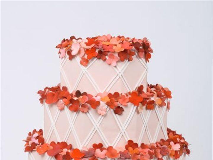 Tmx 1314228303123 PerfectPink West Hollywood wedding cake
