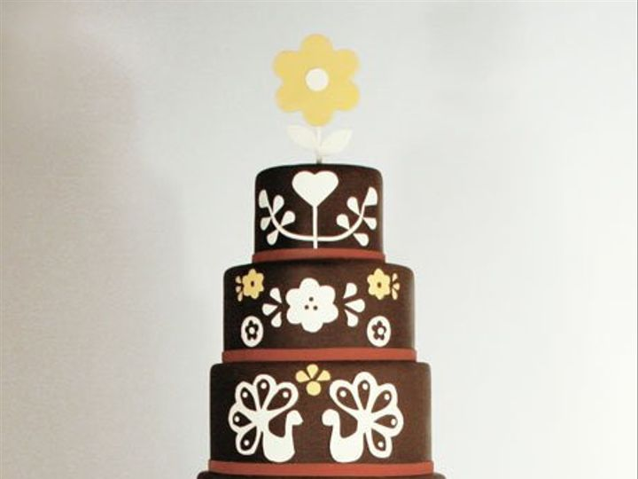 Tmx 1349477619508 Folkart West Hollywood wedding cake