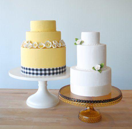 Tmx 1349477676205 Yellownwhitew West Hollywood wedding cake