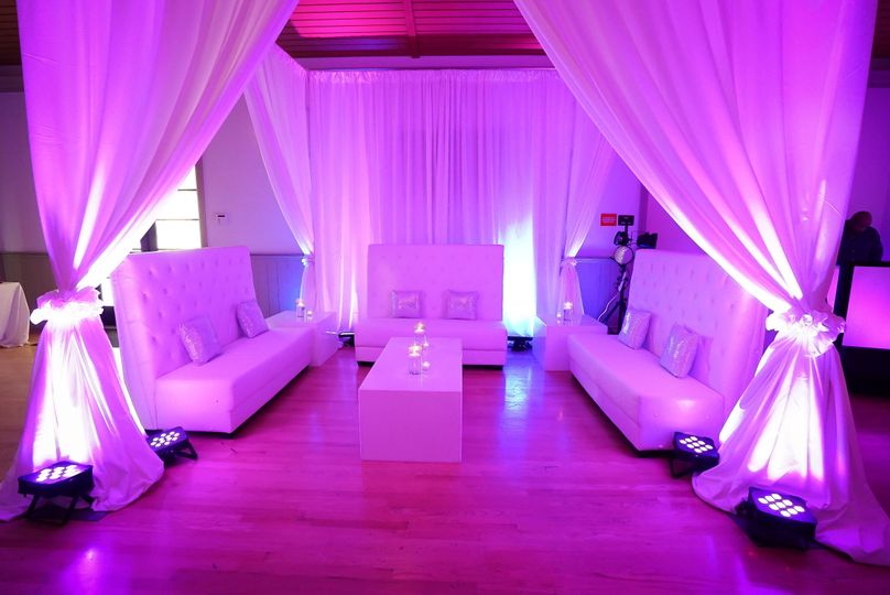 Wedding Furniture and Backdrop