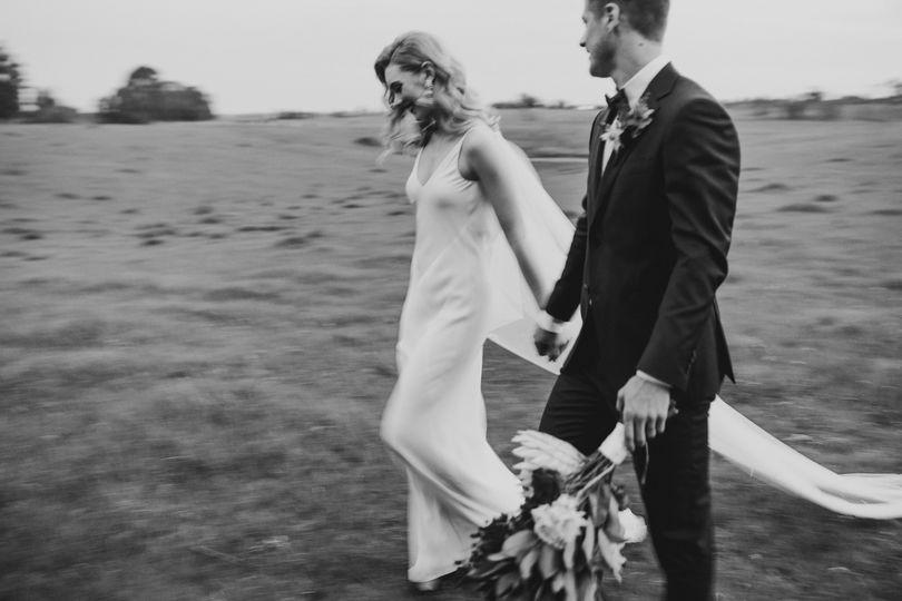 Bride & groom styling