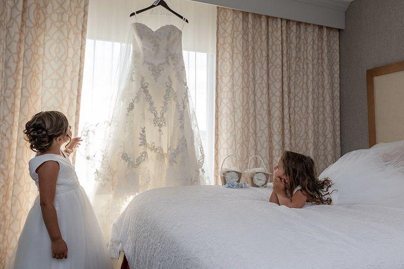 Flower Girls and Wedding Dress