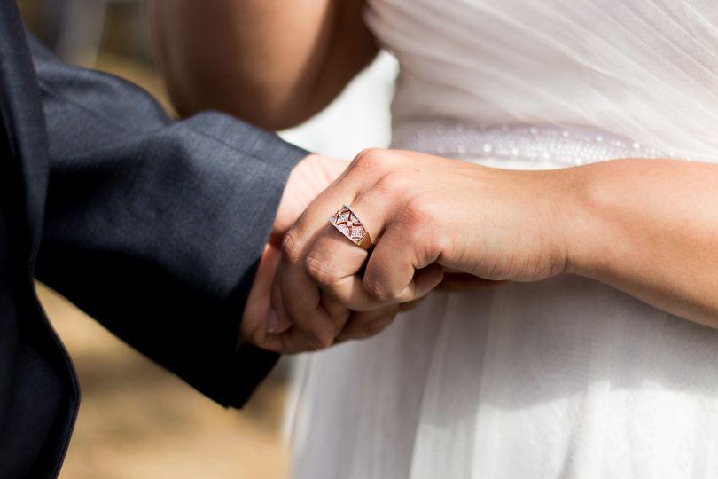 P & Js wedding