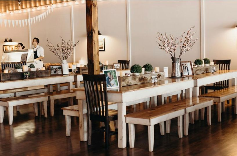 Long table setups
