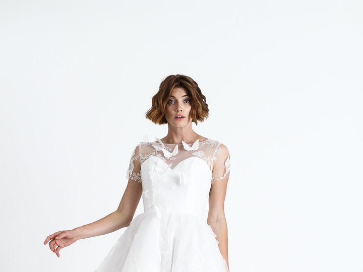 Tmx Bridal Ss18 Shortsleevebutterflyembroidereddress Ss18cd007 Viewa Copy 51 1386653 158394435560750 Dallas, TX wedding dress