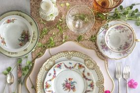 Three Sisters Vintage China