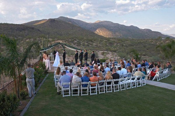 Saguaro Buttes outdoor weddings set against the beautiful Saguaro National Park