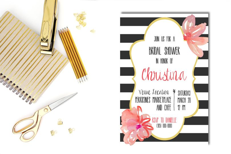 It's time to honor the bride to be at her very own bridal shower.Make sure your friends and family...