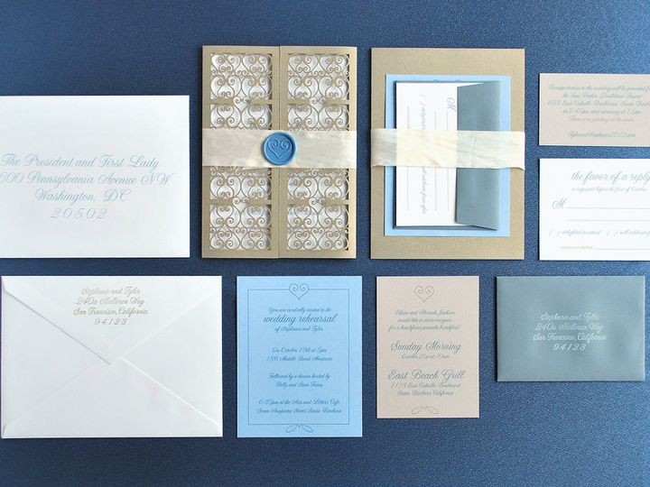 Tmx 1400601163345 Biltmore00 Biddeford, ME wedding invitation