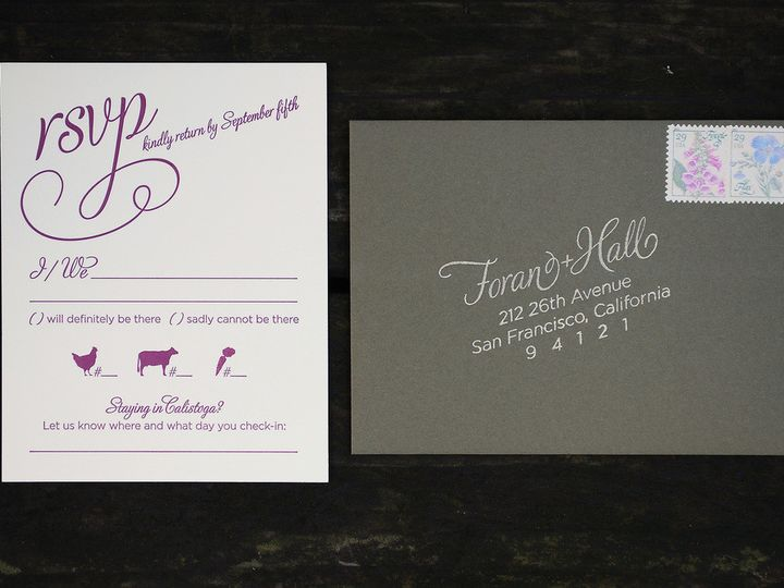 Tmx 1458307296732 Calistoga019 Biddeford, ME wedding invitation