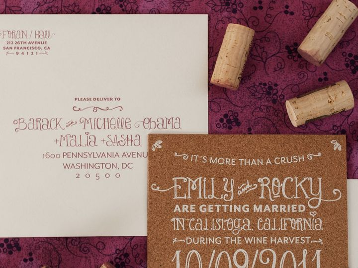 Tmx 1458307564002 Corkstdaddressing Biddeford, ME wedding invitation