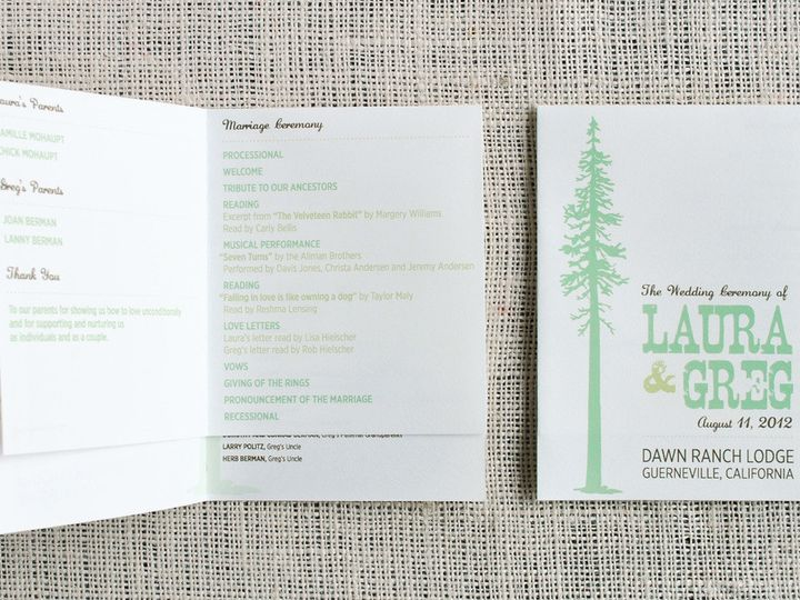 Tmx 1458308998802 Guerneville009 Biddeford, ME wedding invitation