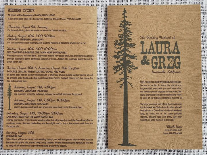 Tmx 1458309025411 Guerneville014 Biddeford, ME wedding invitation
