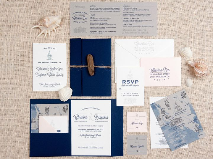 Tmx 1458311551781 Pointreyes004 Biddeford, ME wedding invitation