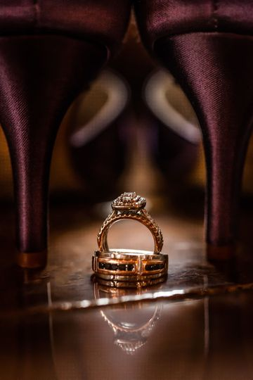 Wedding ring, wedding, Solon, Iowa, Palmer Stable House