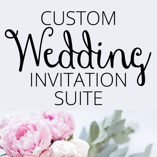 custom wedding invitation suite 01