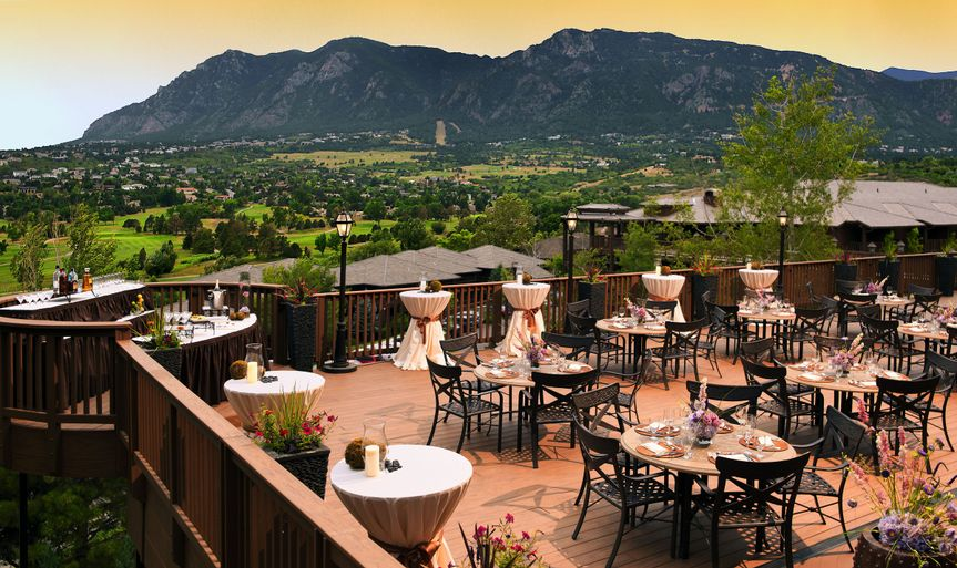 Mountain Wedding Venues: Cheyenne Mountain Colorado Springs, A Dolce Resort