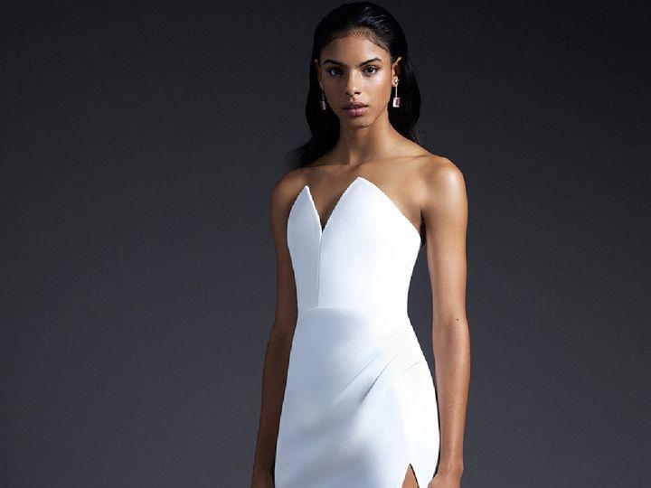 Tmx Cushnie Strapless 51 78653 New York, NY wedding dress