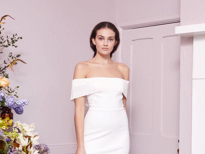 Tmx Harbourfrilldressharbourfrilldresshalfpenny Painter Lookbook0010 51 78653 1568221765 New York, NY wedding dress