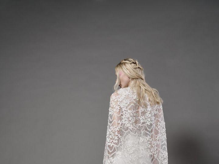Tmx Ophelia Forest Cape 51 78653 New York, NY wedding dress