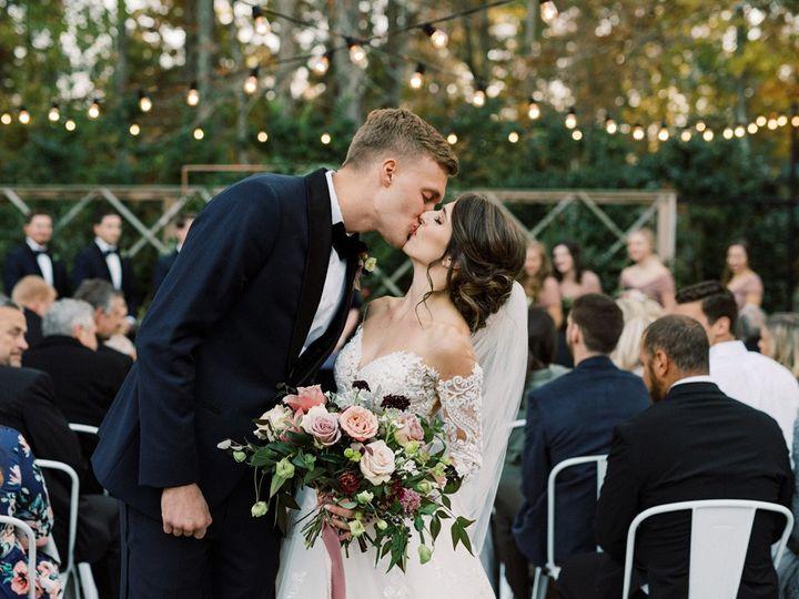 Tmx The Parlour Ceremony Couple Kissing 51 788653 1560358851 Chapel Hill, NC wedding venue