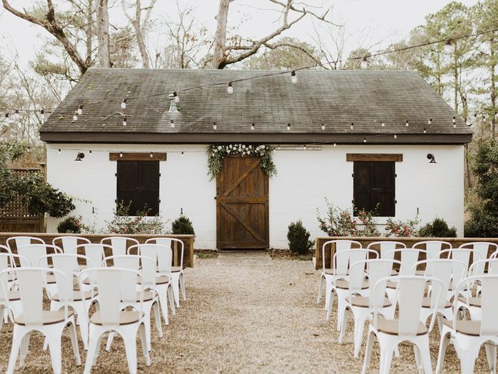 Tmx The Parlour Courtyad Ceremony Barn 51 788653 1560359026 Chapel Hill, NC wedding venue