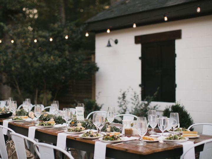Tmx The Parlour Courtyard Reception 51 788653 1560359043 Chapel Hill, NC wedding venue