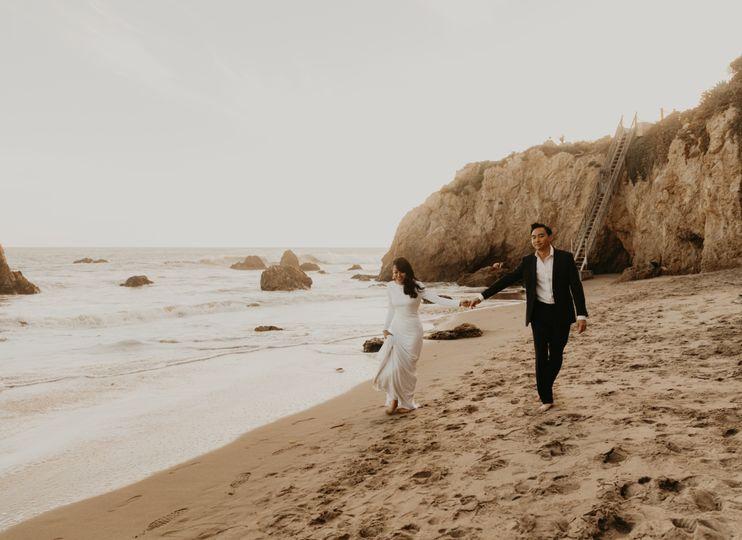 El matador wedding photography