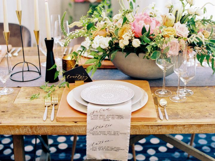 Tables setup