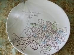 Tmx 1474835410019 Bridal Bouquet Cake Plate Dome Color Ithaca, NY wedding planner