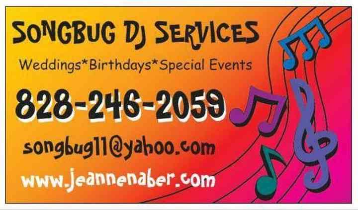 Songbug DJ Services