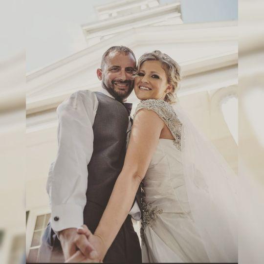 Perfect wedding day!