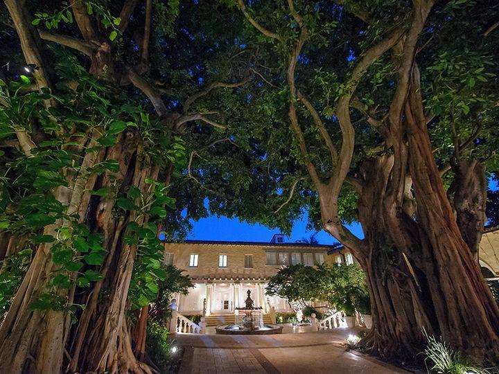 Tmx 1442261197776 Nighttime Courtyard   Natural Lighting Boca Raton, Florida wedding venue