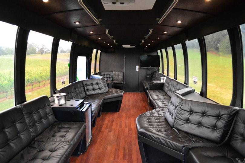 coach interior daylight