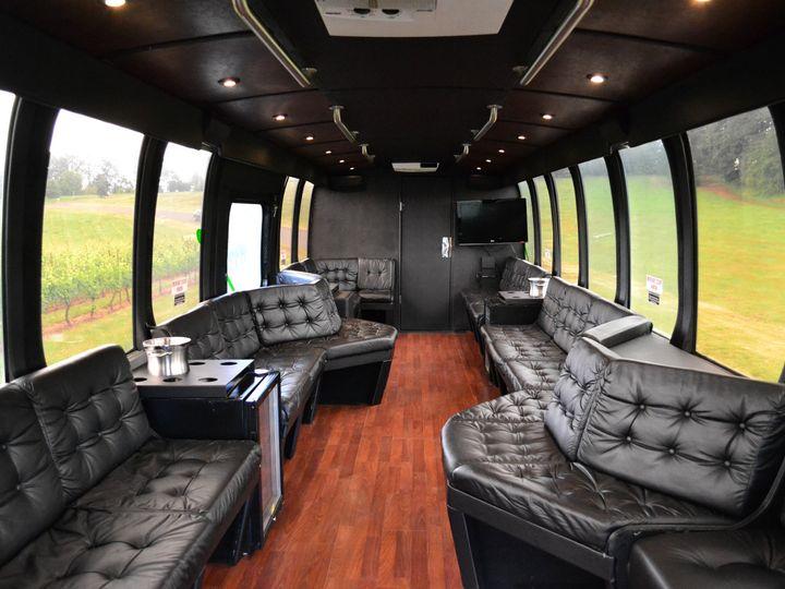Tmx 1475714196000 Coach Interior Daylight Portland, OR wedding transportation