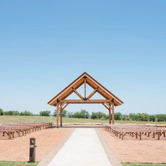 Outdoor ceremony option