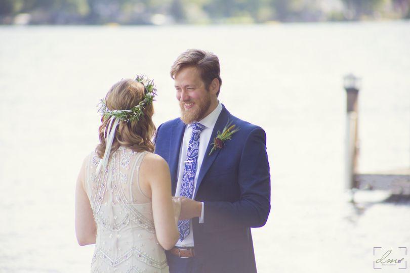 Wedding by the Lake (Bomoseen)