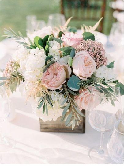 Soft Table florals