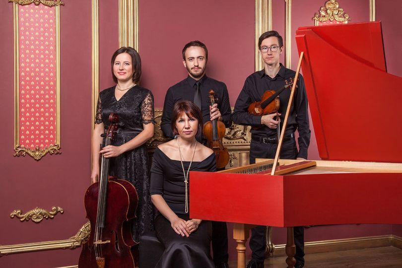 Classical wedding quartet