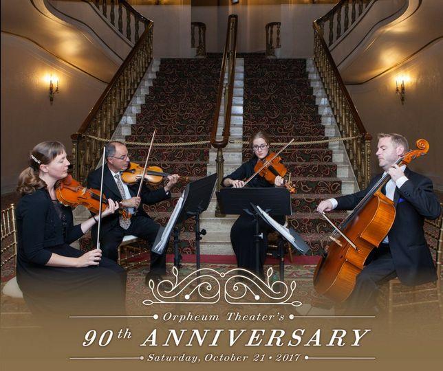 String quartet-orpheum theatre