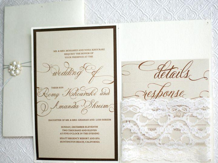 Tmx 1382555613542 6 Fullerton wedding invitation