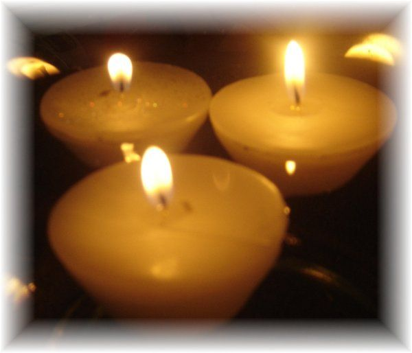 Floating Votive Candle: Starting at $1.00 each